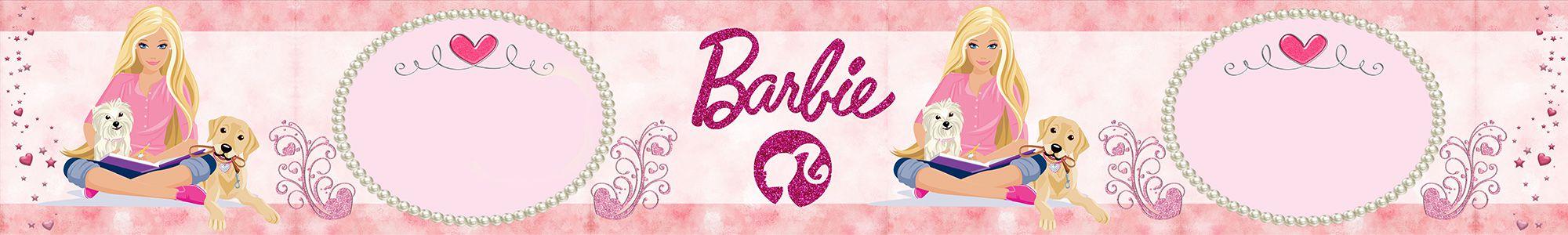 Faixa Decorativa Adesiva Barbie  - Final Decor