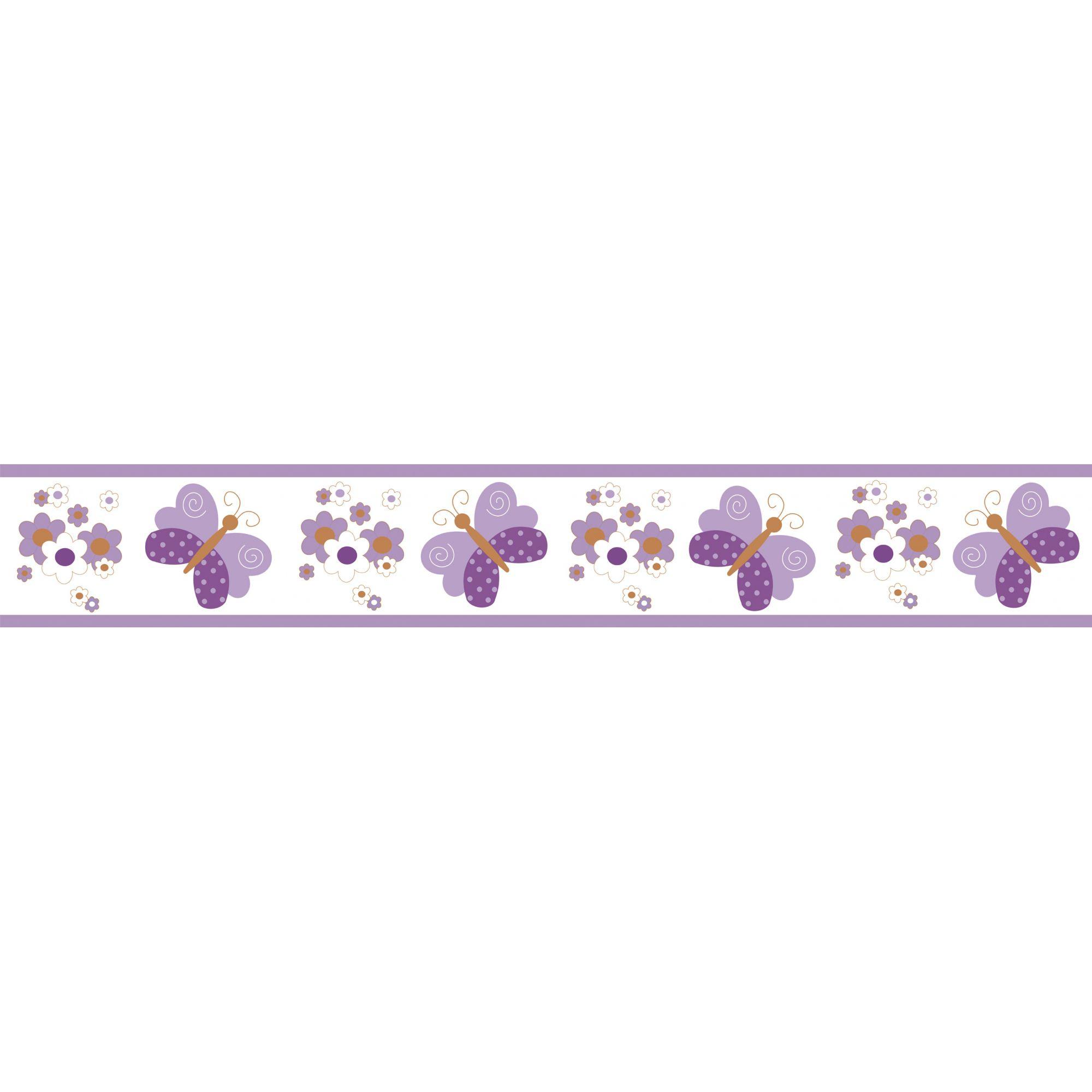 Faixa Decorativa Adesiva Borboletas  - Final Decor