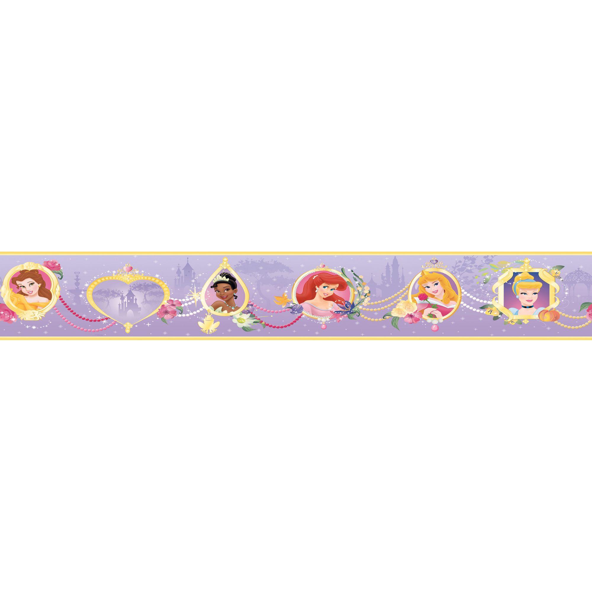 Faixa Decorativa Adesiva Princesas 2  - Final Decor