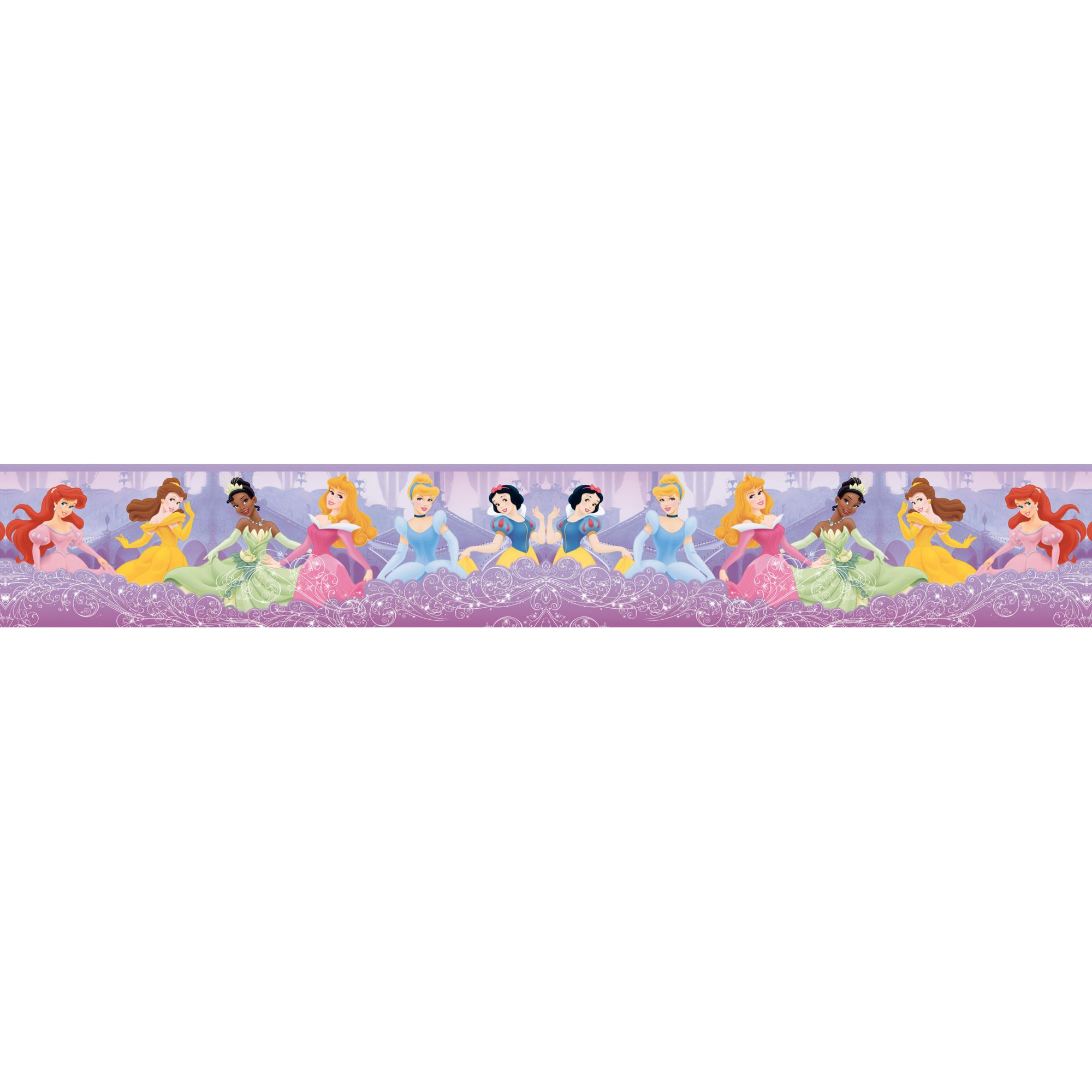 Faixa Decorativa Adesiva Princesas  - Final Decor