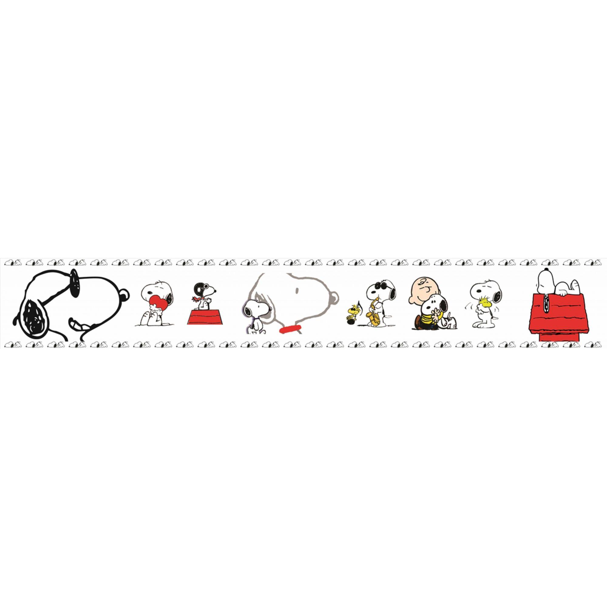 Faixa Decorativa Adesiva Snoopy  - Final Decor