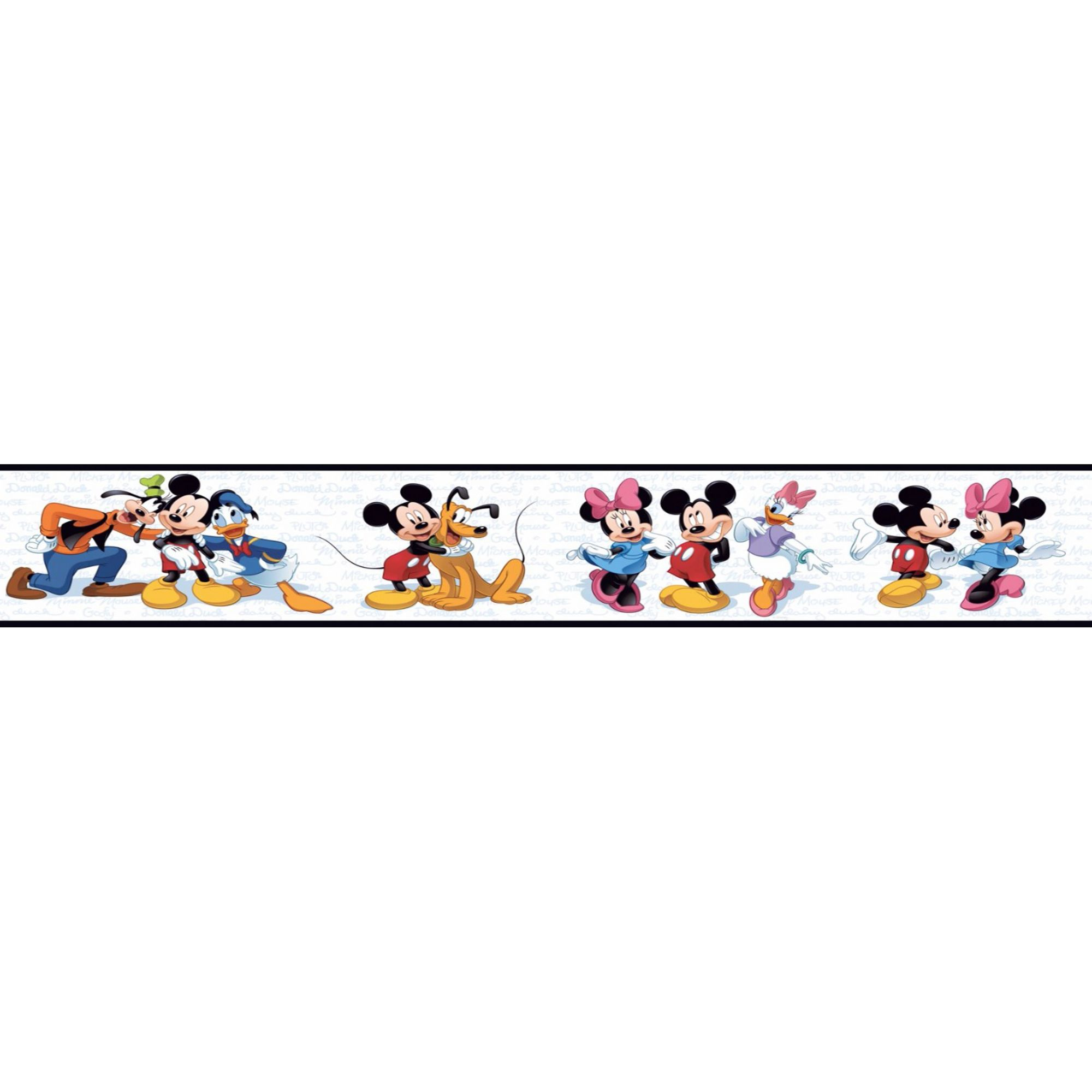Faixa Decorativa Adesiva Turma do Mickey  - Final Decor