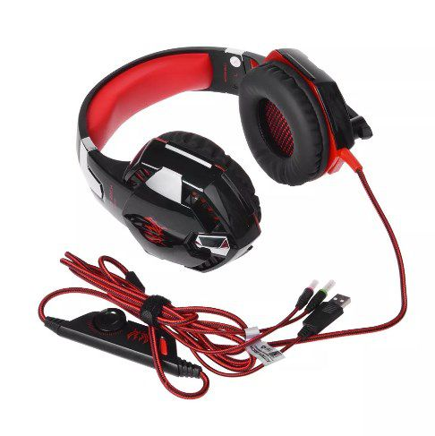 Headset Gamer Kotion Each 7.1 P/ Ps4 X Box One E Pc Com Garantia  - Final Decor