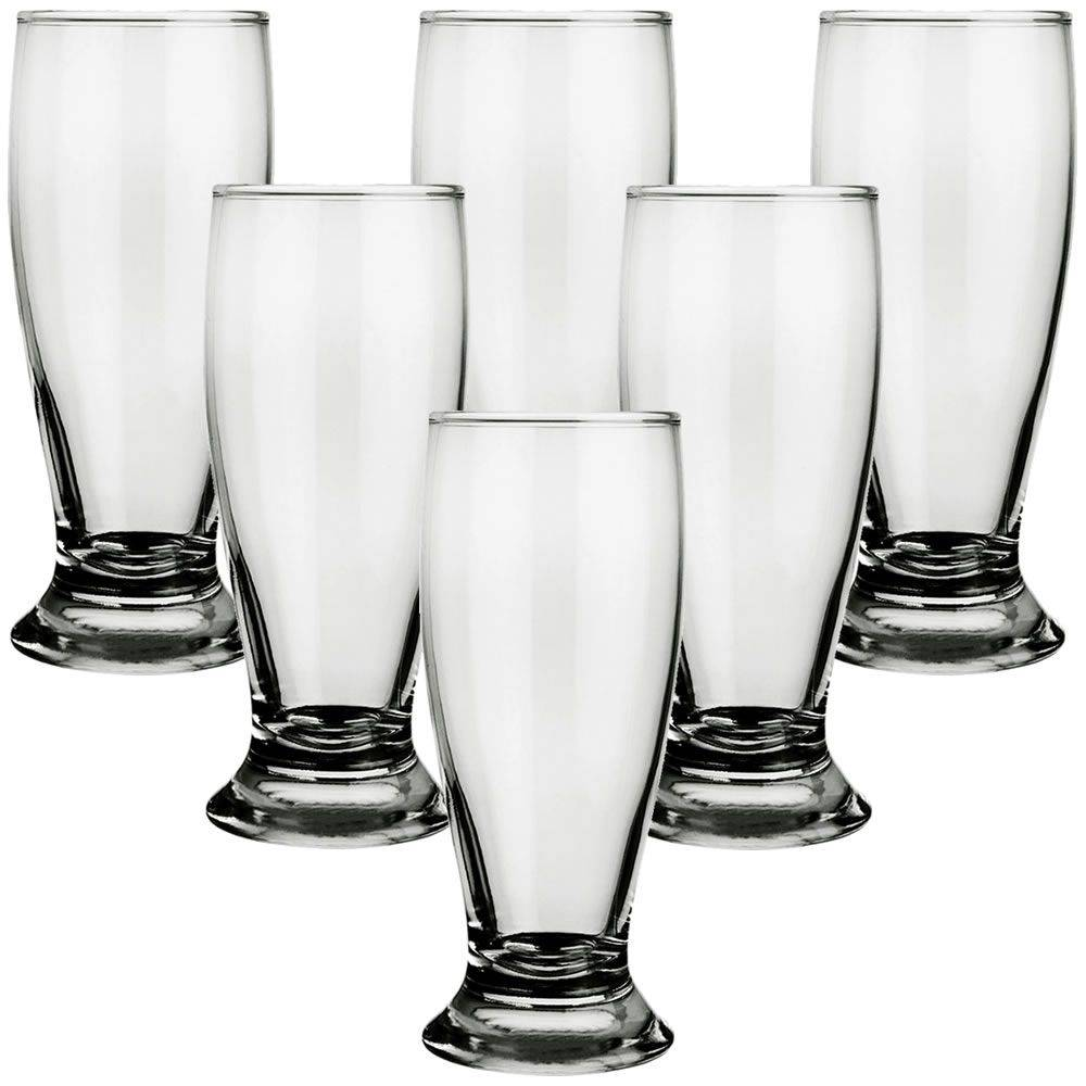 Jogo 6 Copos Tulipa para Cerveja Chopp 300ml Vidro Nadir Munich  - Final Decor