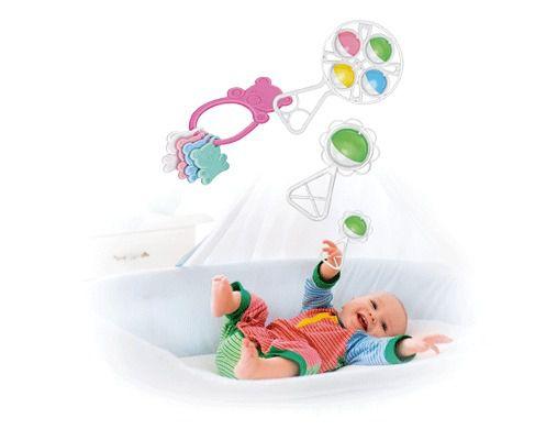 Kit Chocalho 3 Peças Baby Play   - Final Decor