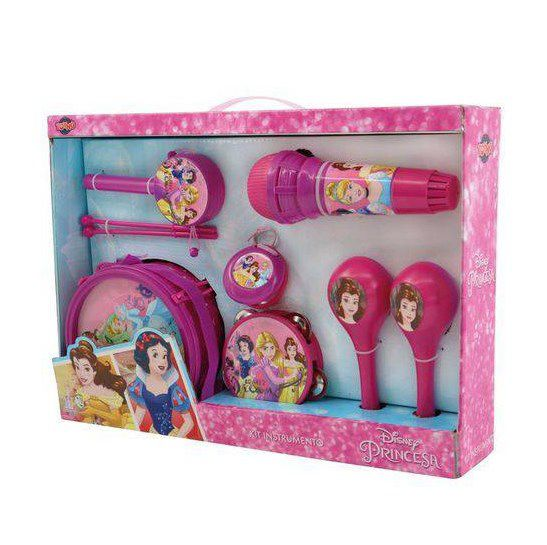 Kit Instrumento Conjunto Musical Princesas Art brink  - Final Decor