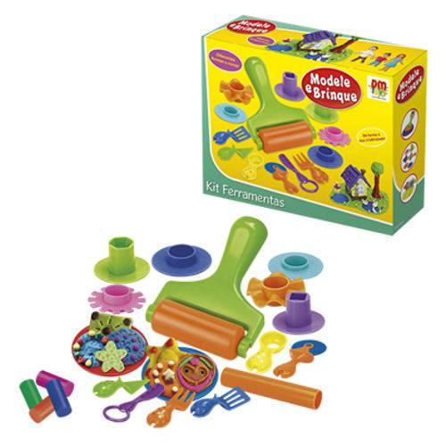 Massinha Modele E Brinque Kit Ferramenta Infantil  - Final Decor