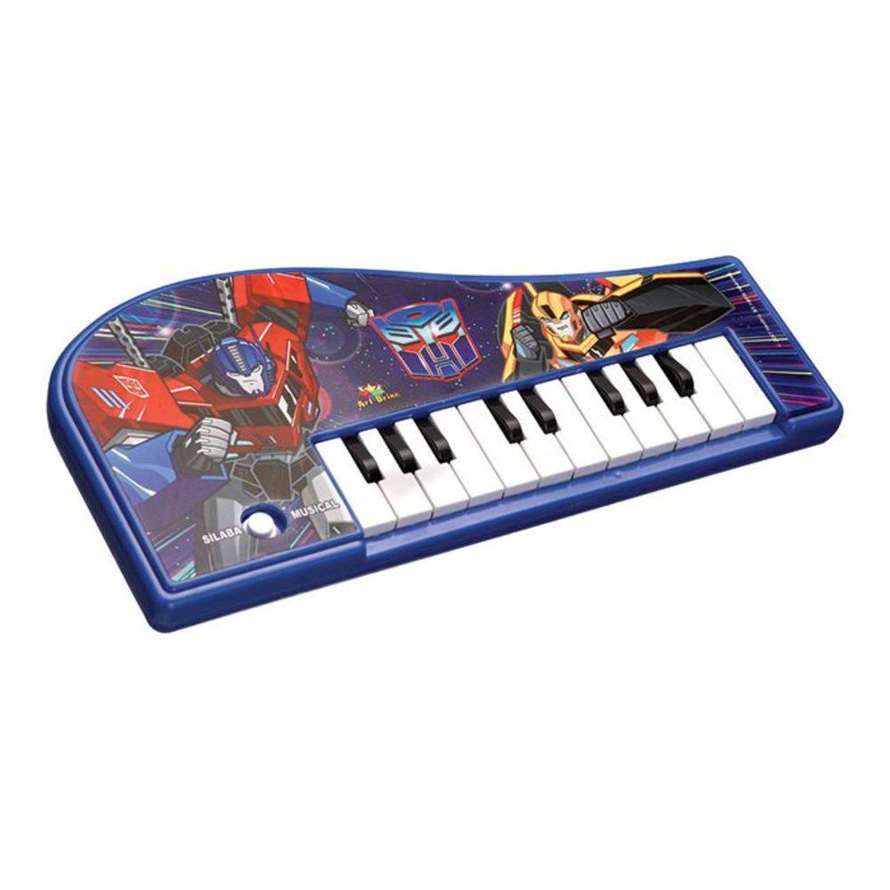 Mini Teclado Piano Musical Educativo Transformers  - Final Decor