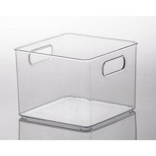 Organizador Multiuso Cristal Diamond 20x20x15cm  - Final Decor
