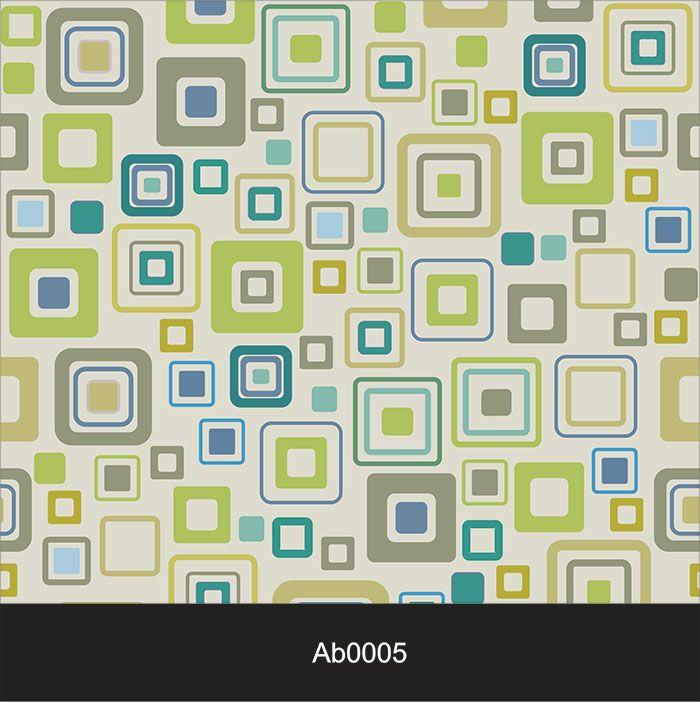 Papel de Parede Auto Adesivo Lavável Abstrato Quadradinhos AB0005  - Final Decor