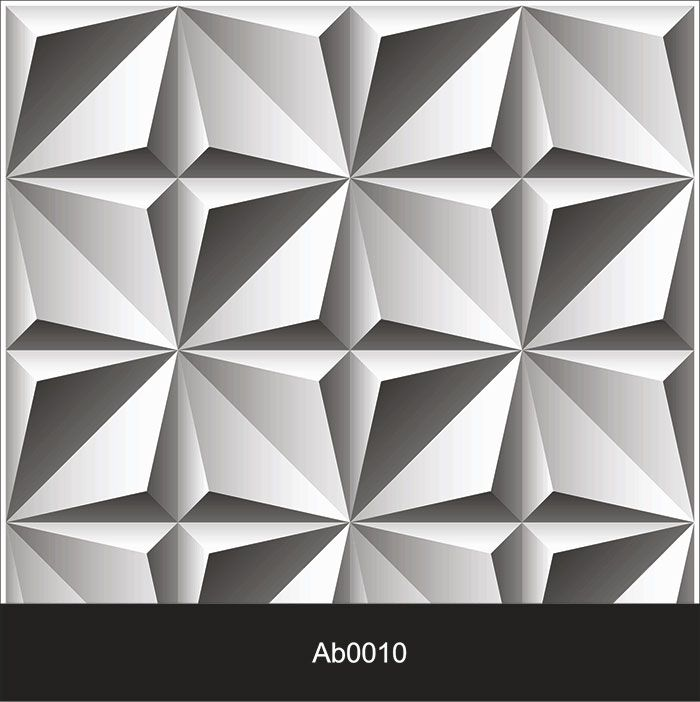 Papel de Parede Auto Adesivo Lavável Abstrato ab0010  Revestimento Placa 3D  - Final Decor