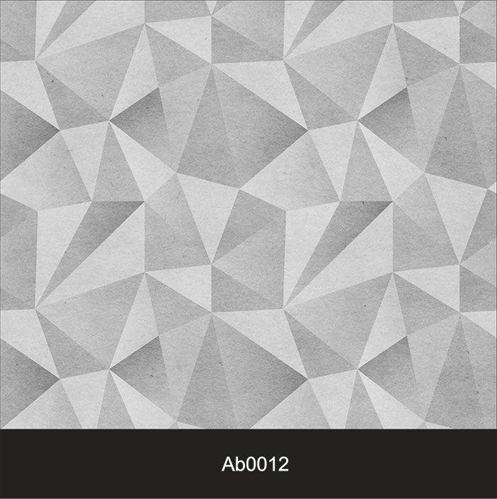 Papel de Parede Auto Adesivo Lavável Abstrato ab0012 Revestimento 3D Cinza  - Final Decor