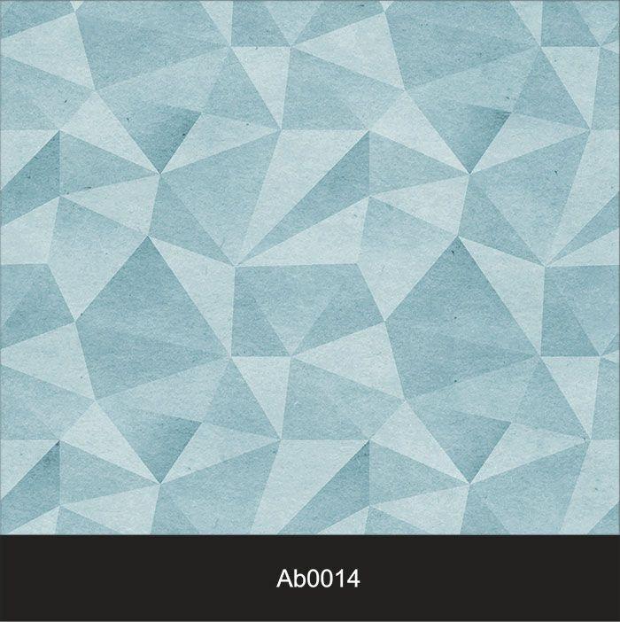 Papel de Parede Auto Adesivo Lavável Abstrato ab0014 Revestimento 3d Azul  - Final Decor