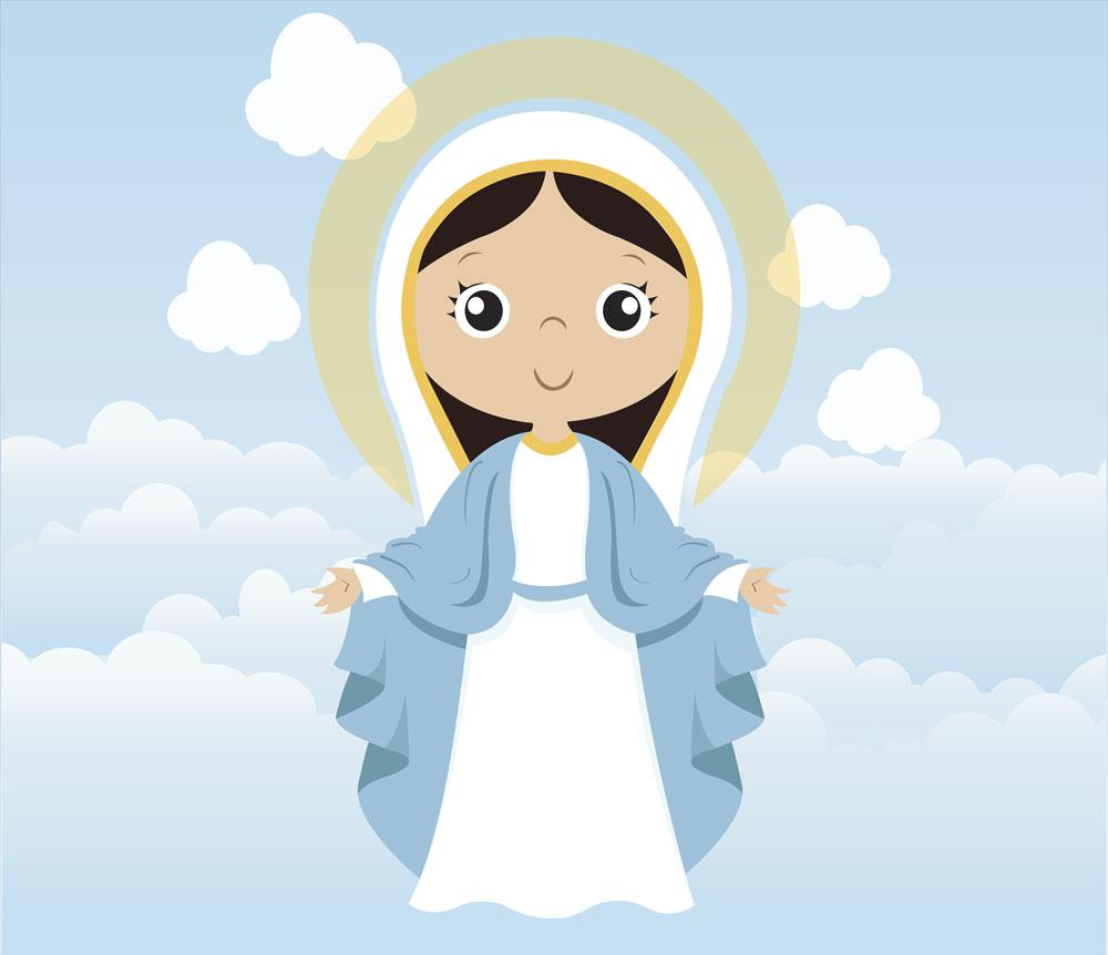 Papel De Parede Adesivo, Infantil Maria Bebê 1X1  - Final Decor
