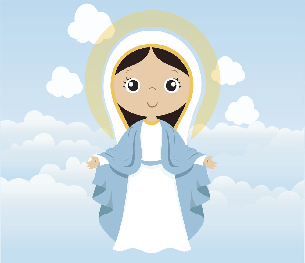 Papel De Parede Adesivo, Infantil Maria Bebê  - Final Decor