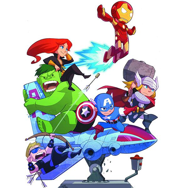 Papel de Parede Adesivo Infantil Vingadores Avengers Desenho  - Final Decor