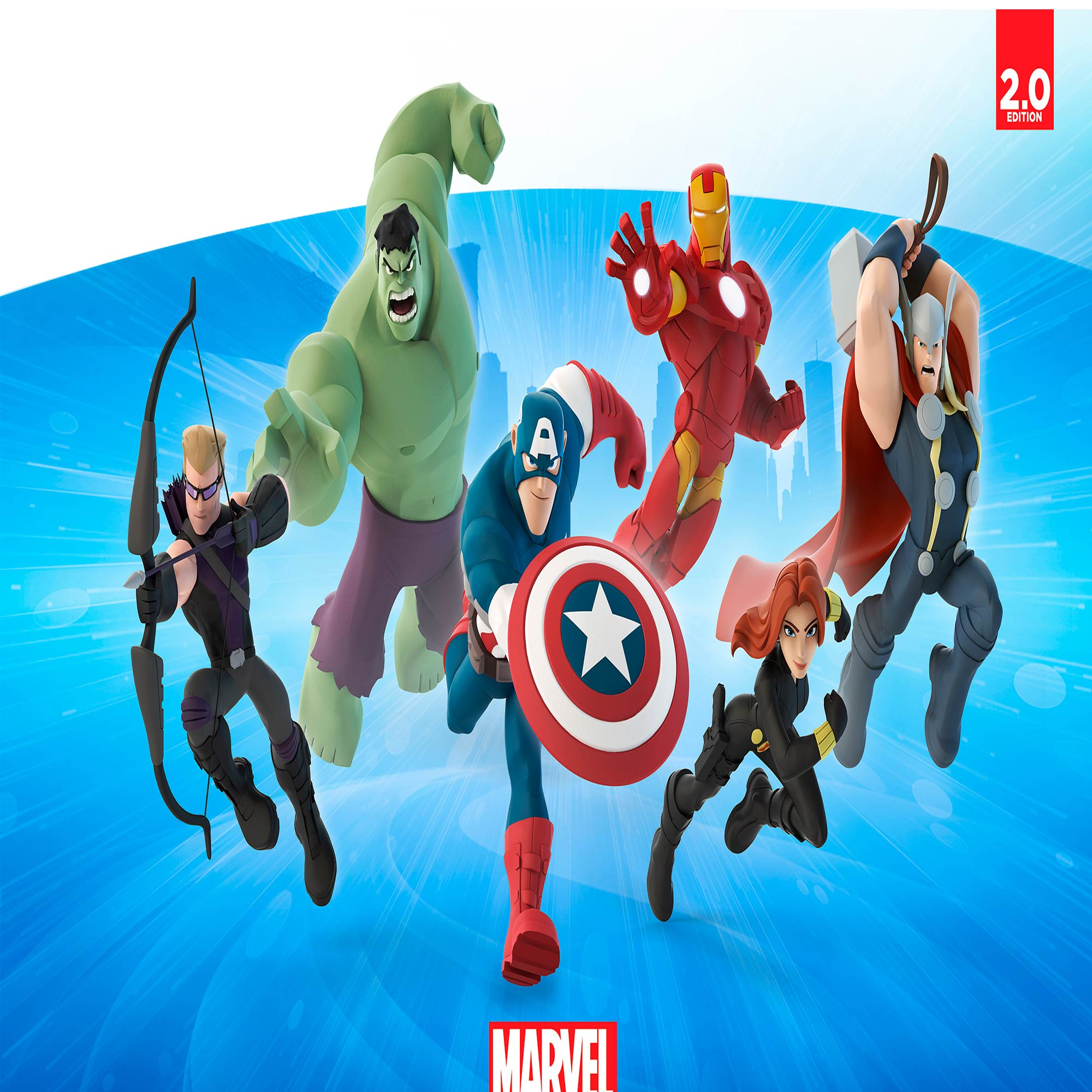 Papel De Parede Adesivo, Infantil Vingadores Marvel Desenho 1X1  - Final Decor