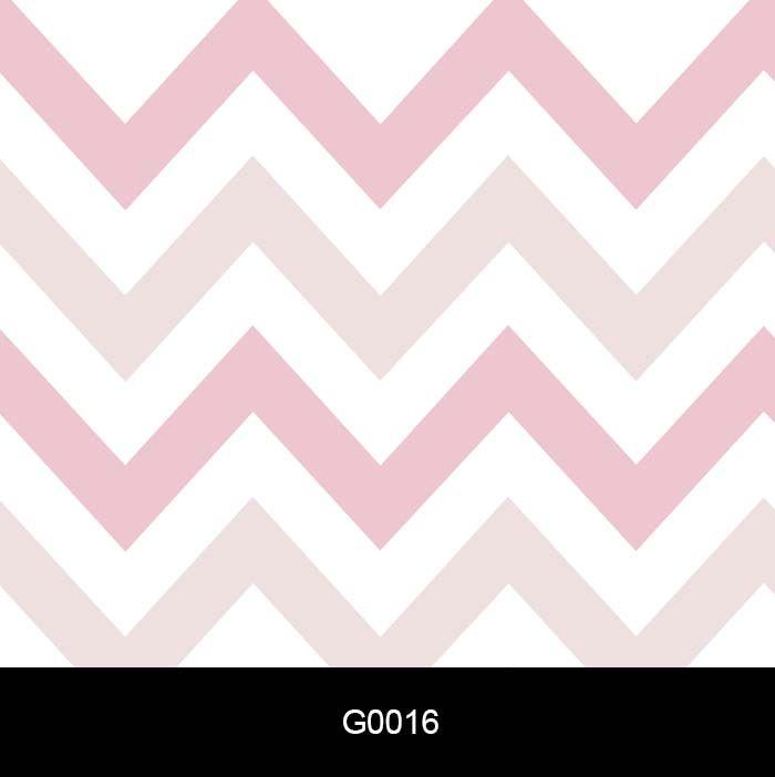 Papel de Parede Adesivo Lavável Chevron Rosa Bebê e Branco G0016  - Final Decor