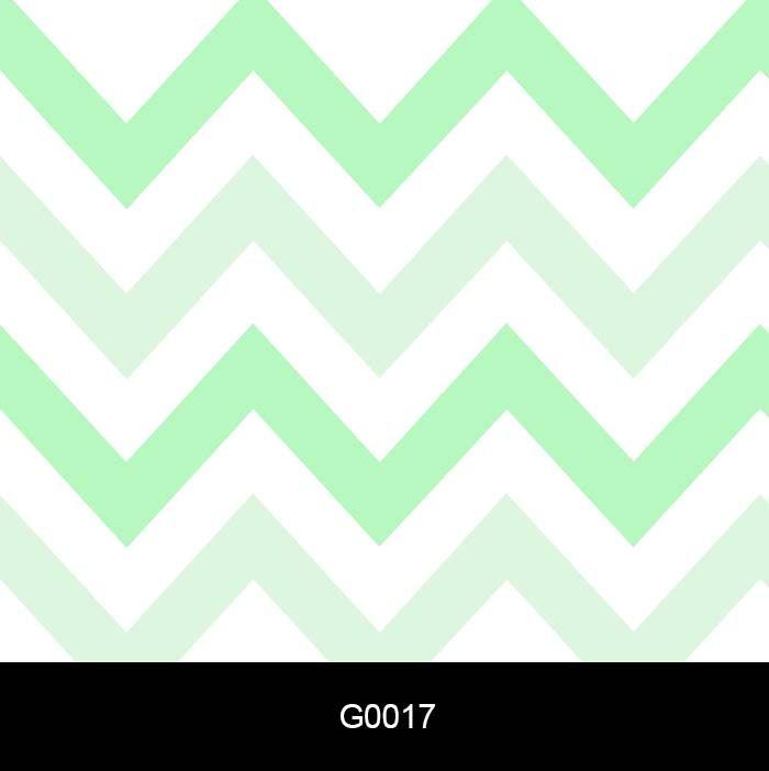 Papel de Parede Adesivo Lavável G0017 Chevron Verde e branco  - Final Decor