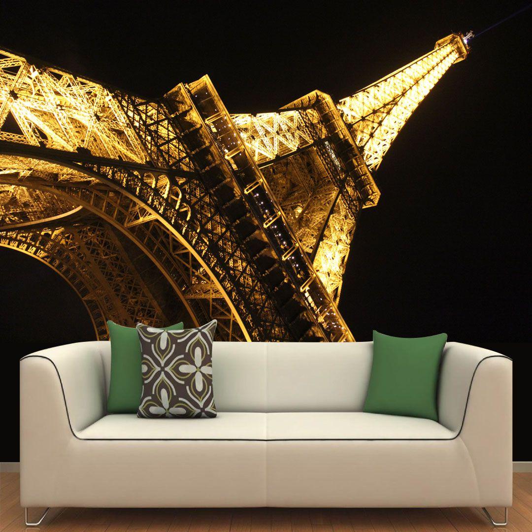 Papel de Parede Adesivo Personalizado, Torre Eiffel, Paris, França  - Final Decor