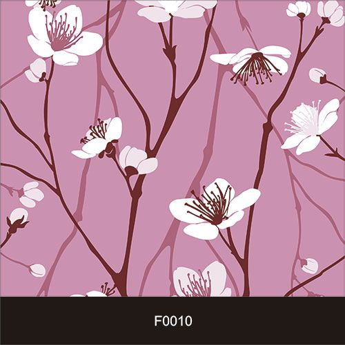Papel de Parede Adesivo Lavável f0010 Floral Pétala Branca  - Final Decor