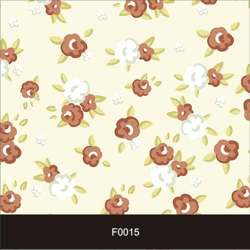 Papel de Parede Adesivo Lavável f0015 Floral Bege  - Final Decor