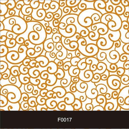 Papel de Parede Adesivo Lavável Floral Laços F0017  - Final Decor