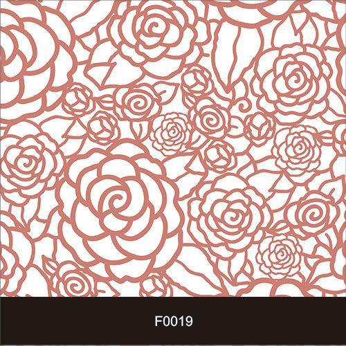 Papel de Parede Adesivo Lavável f0019 Floral Rosas  - Final Decor