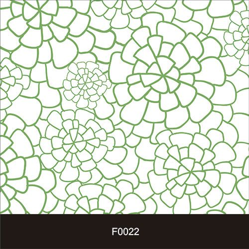 Papel de Parede Adesivo Lavável f0022 Floral Trevo  - Final Decor
