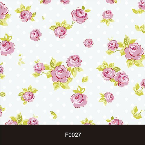 Papel de Parede Adesivo Lavável Floral Vintage Rosa F0027  - Final Decor
