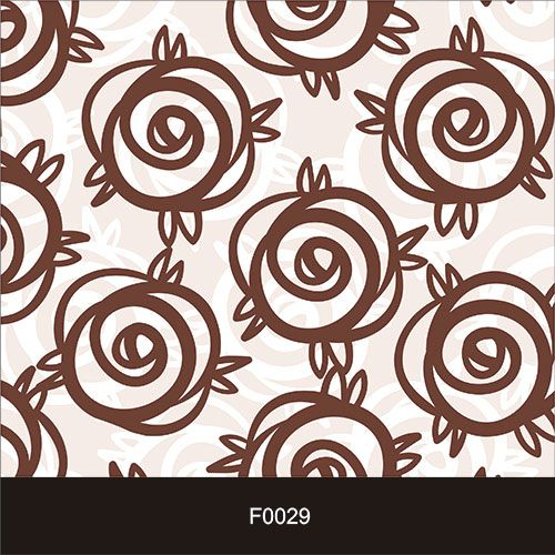 Papel de Parede Adesivo Lavável Floral Chocolate F0029  - Final Decor