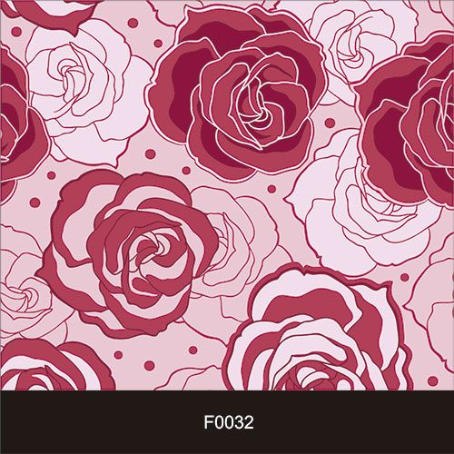 Papel de Parede Adesivo Lavável f0032 Floral Rosas Magenta  - Final Decor