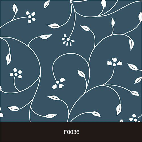 Papel de Parede Adesivo Lavável Floral Laços Azuis F0036  - Final Decor