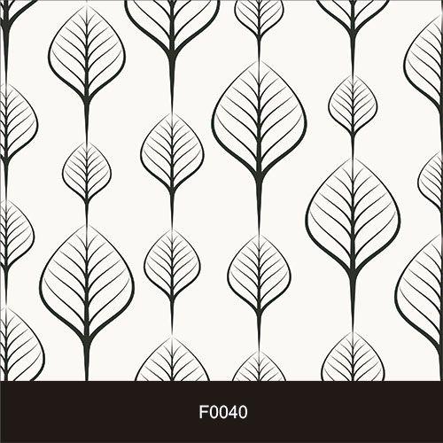 Papel de Parede Adesivo Lavável f0040 Floral Clássico  - Final Decor