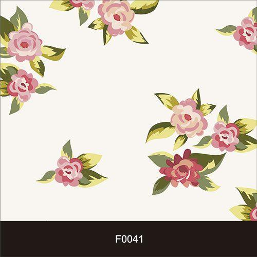 Papel de Parede Adesivo Lavável Floral Clean F0041  - Final Decor
