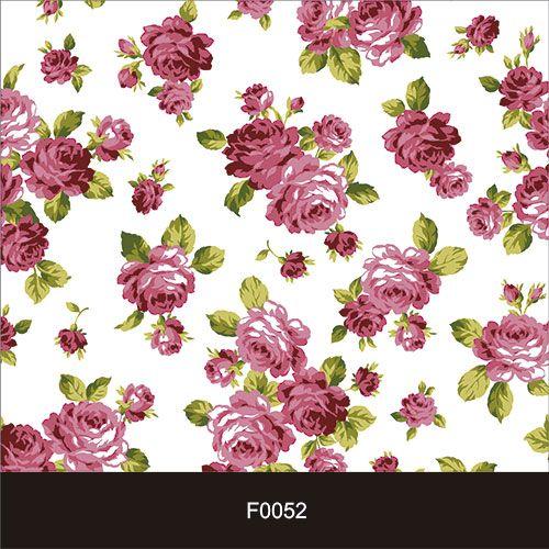 Papel de Parede Adesivo Lavável Floral Botões de Rosa F0052  - Final Decor