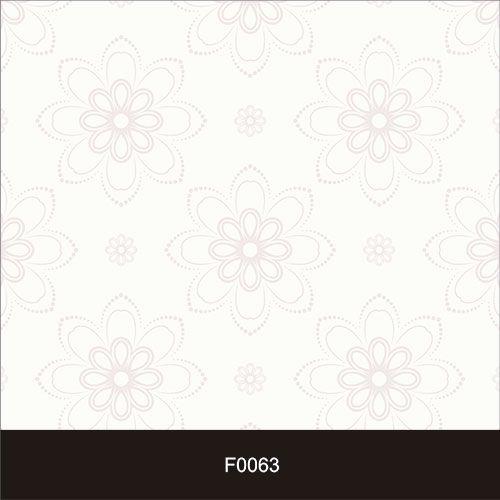 Papel de Parede Adesivo Lavável Floral Rosa Pontilhada F0063  - Final Decor
