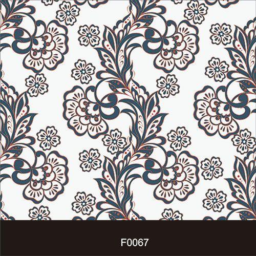 Papel de Parede Adesivo Lavável Floral Vintage F0067  - Final Decor