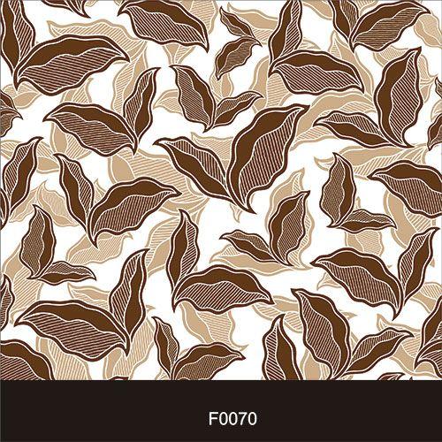 Papel de Parede Adesivo Lavável f0070 Floral Folhas Marrom  - Final Decor