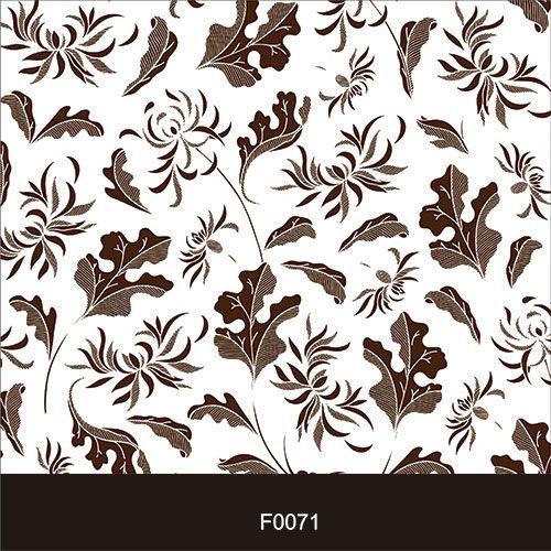 Papel de Parede Adesivo Lavável f0071 Floral Folhas  - Final Decor