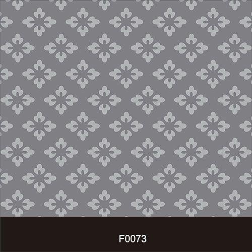 Papel de Parede Adesivo Lavável Floral Cinza Vintage F0073  - Final Decor