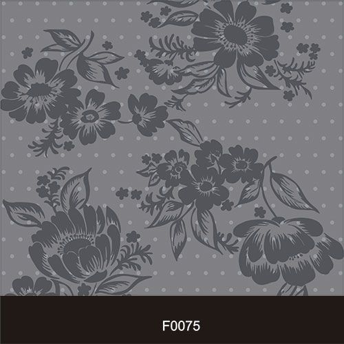Papel de Parede Adesivo Lavável f0075 Floral Retro  - Final Decor