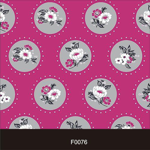Papel de Parede Adesivo Lavável f0076 Floral Clássico Retro  - Final Decor