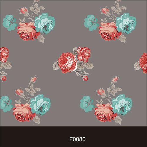 Papel de Parede Adesivo Lavável f0080 Floral Clássico  - Final Decor