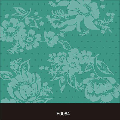 Papel de Parede Adesivo Lavável f0084 Floral Poa  - Final Decor