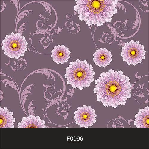 Papel de Parede Adesivo Lavável f0096 Floral Arabesco  - Final Decor