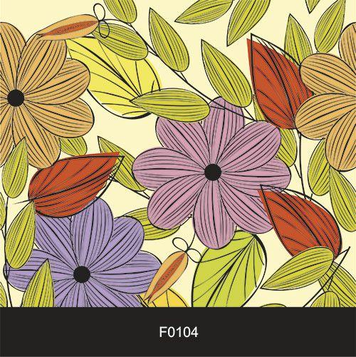 Papel de Parede Adesivo Lavável Floral Folhagem e Flores F0104  - Final Decor