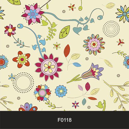 Papel de Parede Adesivo Lavável Floral Diversão F0118  - Final Decor