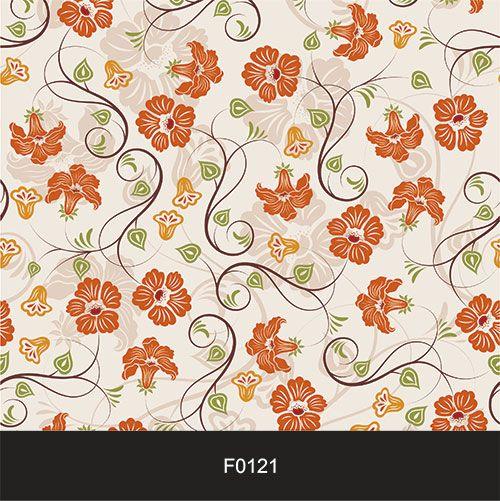 Papel de Parede Adesivo Lavável f0121 Floral Delicado Romântico  - Final Decor