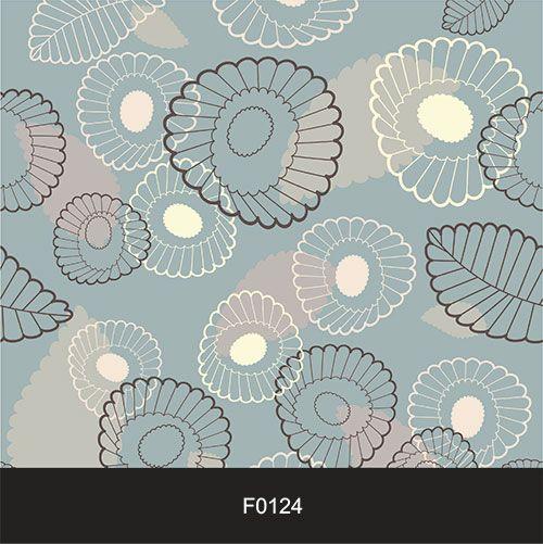 Papel de Parede Adesivo Lavável Floral Girassol Moderno F0124  - Final Decor